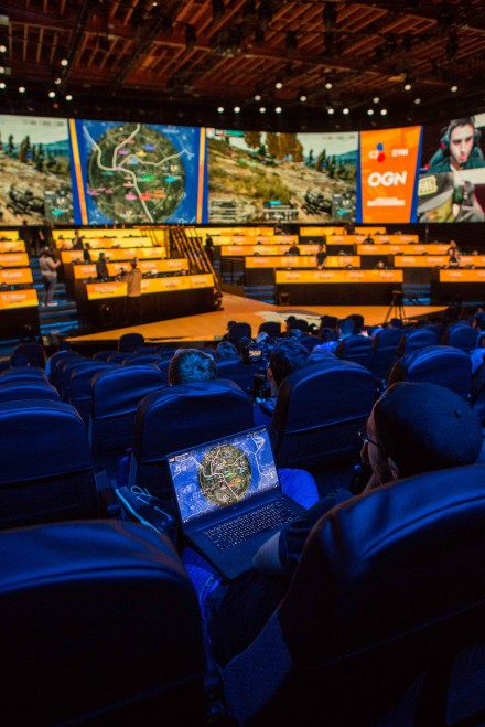 Delivering the 'wow factor' for e-sports in Los Angeles